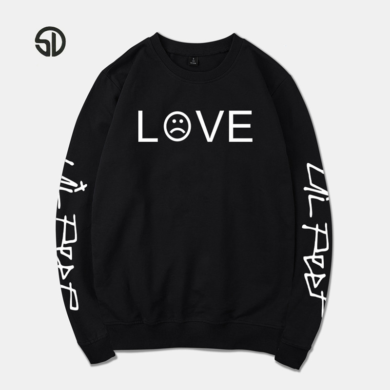 2018 Lil Peep Spring Hoodies Men/Women Sweatshirt Streetwear Fashion R.I.P Tracksuit Autumn Hip Hop Fashion Streetwear Hoodies