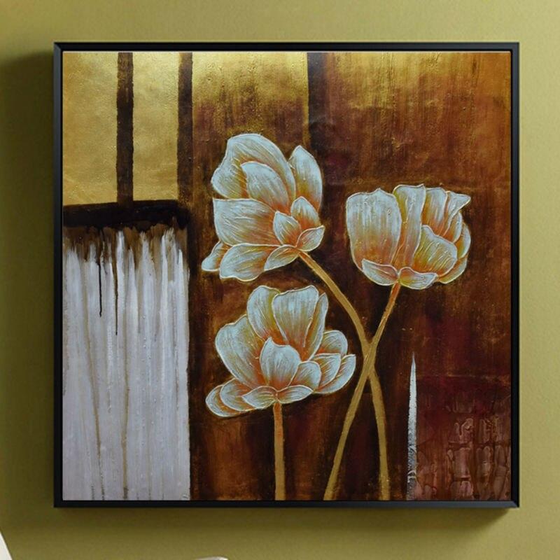 Современные художественные картины абстрактный цветок Экспрессия Виллем Haenraets масло на холсте Ручная роспись высокое качество настенные ф... - 4