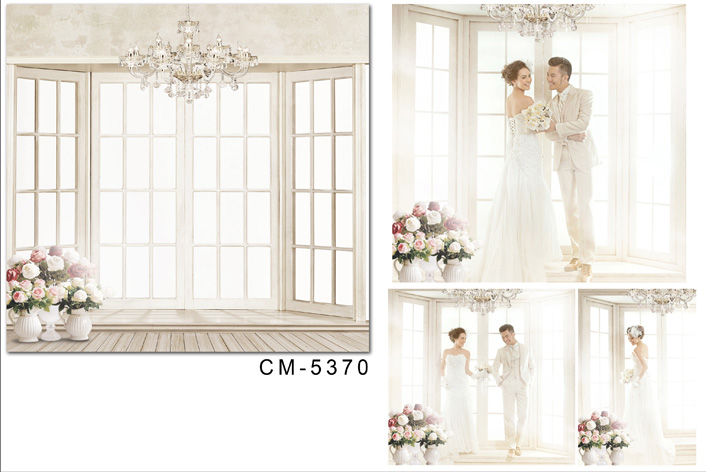 8X12ft Vinyl wedding indoor Backdrops For Photography White Photo Background for photo studio