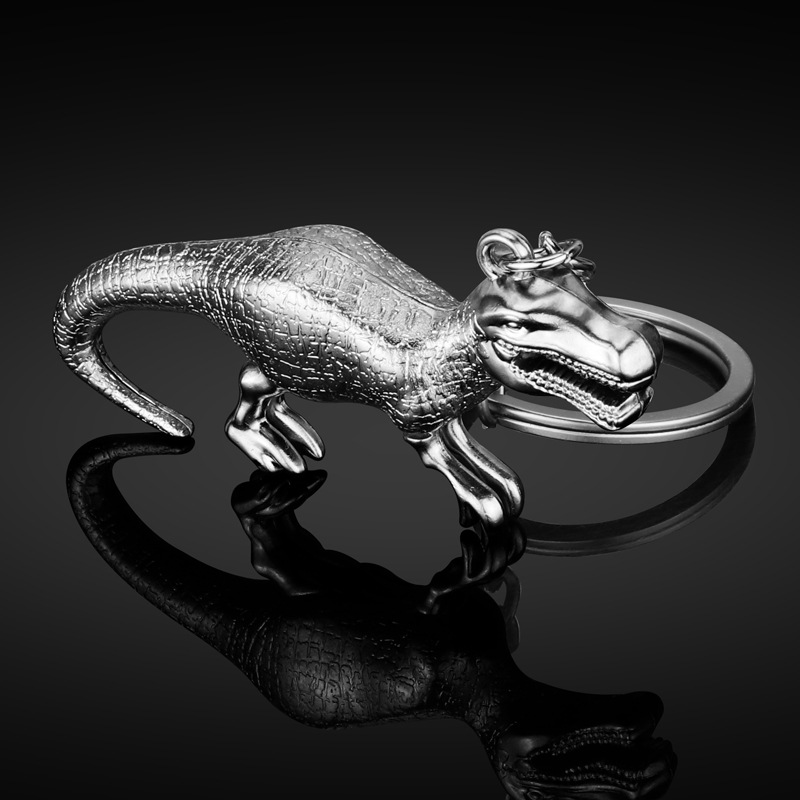 Dinosaur Keychain New Metal Dinosaur Key Pendant