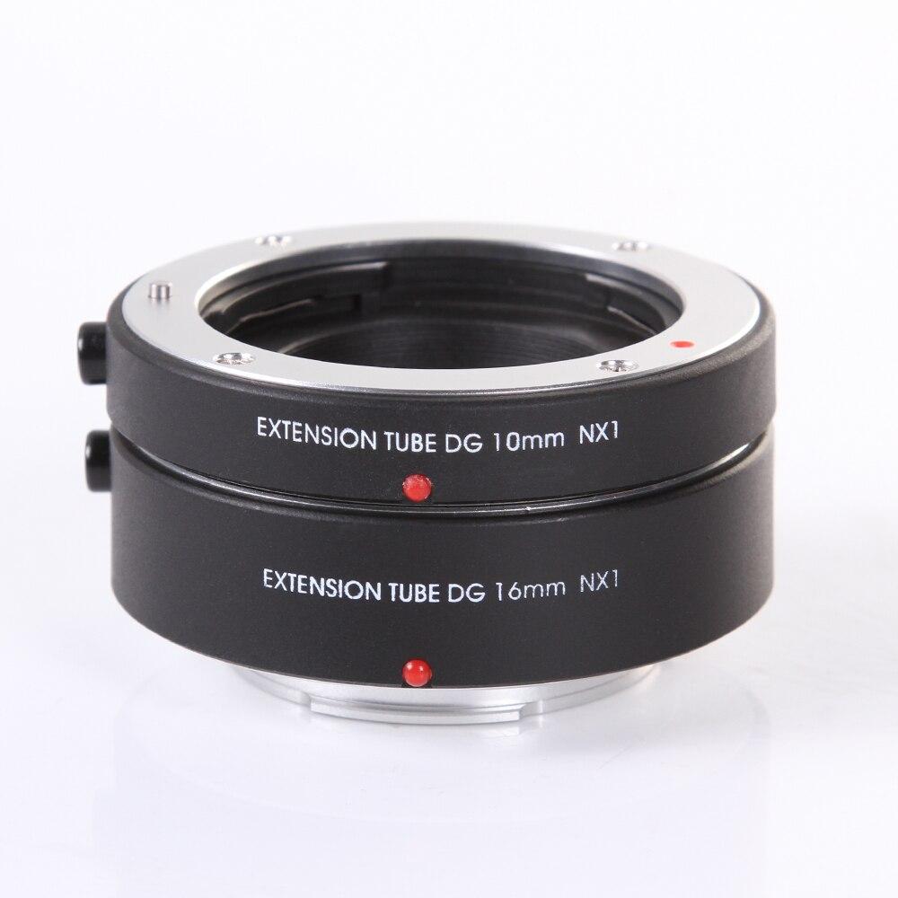 FOTGA Électronique mise au point Automatique AF Macro Extension Tube DG 10mm + 16mm Ensemble pour Samsung NX Montage