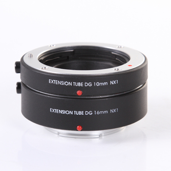 FOTGA Electronic Auto focus AF Macro Extension Tube DG 10mm+16mm Set for Samsung NX Mount