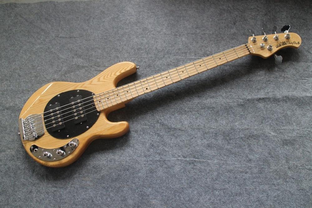 5string through body bass natural ash body 5 string music man olp bass guitar guitarra all color. Black Bedroom Furniture Sets. Home Design Ideas