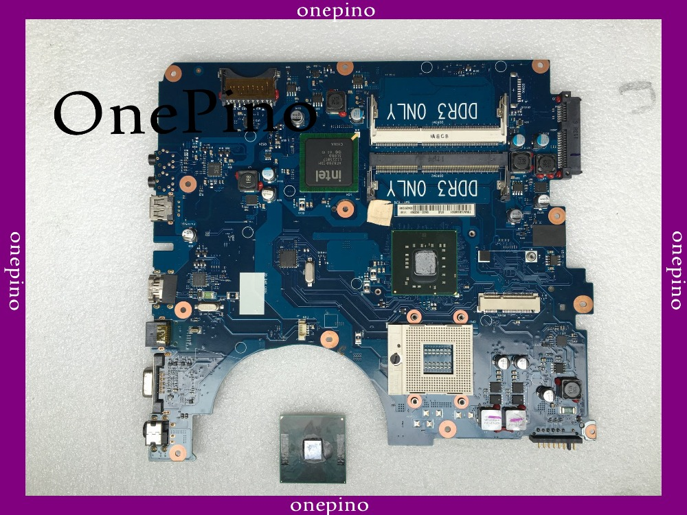 With CPU BA92-06336B fit for NP-R530 R530 laptop motherboard BA92-06336A GL40 system board fully tested working