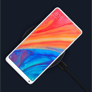 Image 2 - Original Xiaomi Univeral Wireless Fast Charger Qi Smart Quick Charge 7.5W 5V 2A for Mi MIX 2S iPhone X 8 plus 10W For Sumsung S9