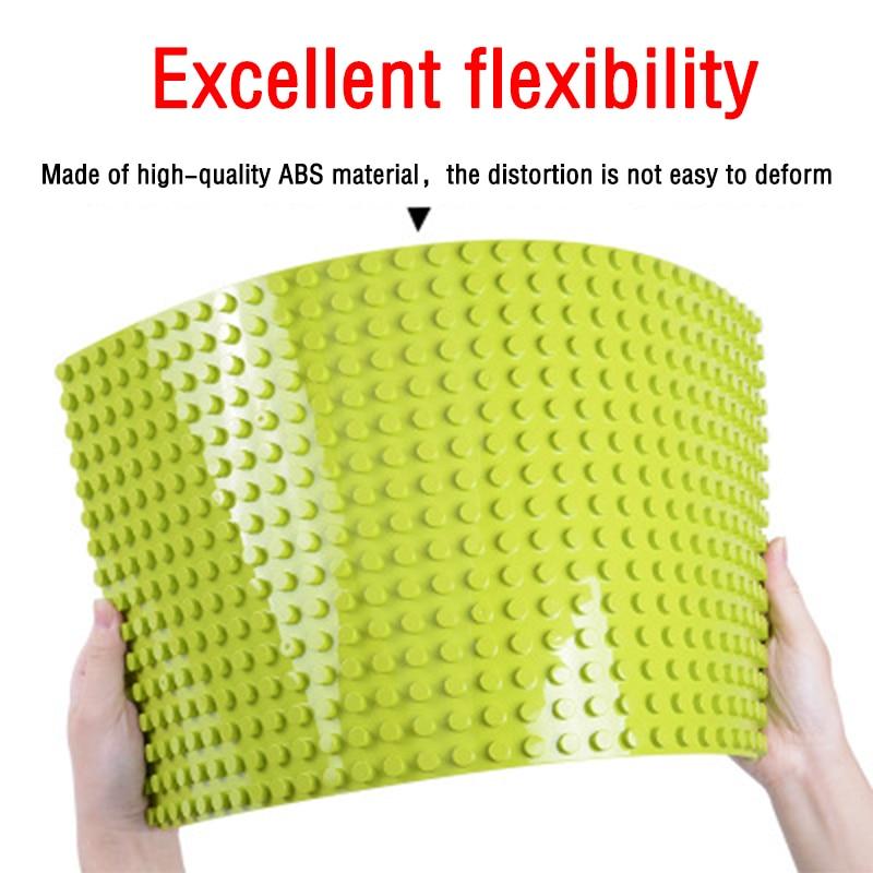 GOROCK Large Size Baseplate Big Base Plate 404 Dots Exlarge Brick Solid Plate Toys Compatible Legos