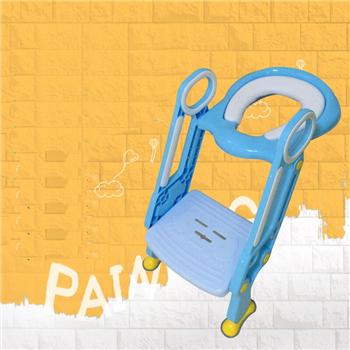 Fezes Escada Higiênico Bacio Bebé de plástico Crianças Cadeira Potty Penico Escada Escada Penico Wc Para Crianças Azul Rosa