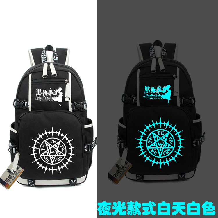 New Black Butler kuroshitsuji Backpack Men And Women School Student Bags Shoulder Laptop Backpacks Leisure Time Package серьги butler and wilson