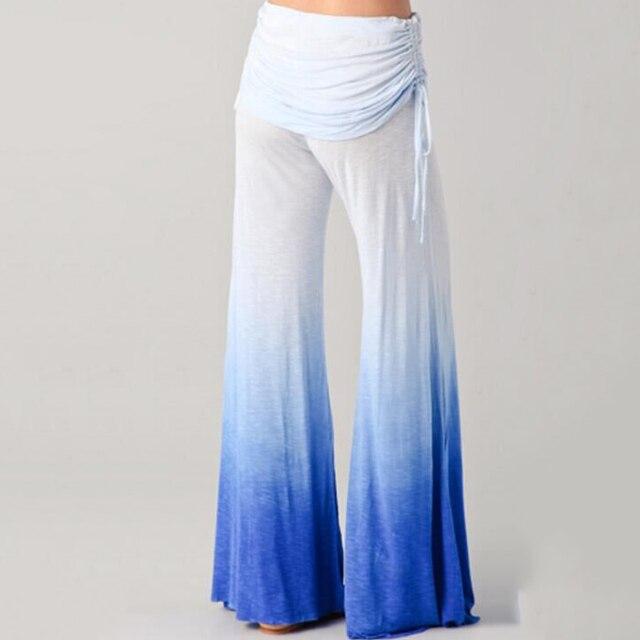 Blanco de Cintura alta Pantalones Anchos de La Pierna Pantalones Casuales Desgaste Femme Pantalon Harem Pantalones Para Las Mujeres de Gran Tamaño Sexy de Las Mujeres pantalones