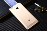 Redmi3 Pro Official Original METAL Cover Case For Xiaomi Redmi 3 Pro Back Battery Cover Housing
