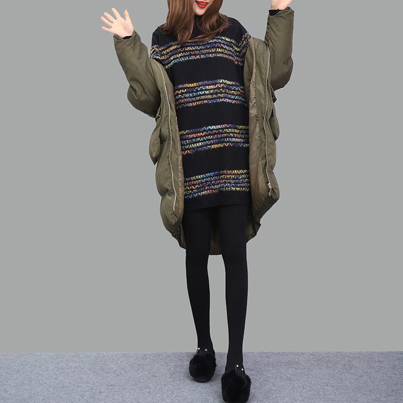 Femmes Lâche Automne Ligne Coréen Pull A Robe Rayé Elbise Lunga Model Manches Tricoté Taille À Haute De Sexy Une Femme Longues Uzun vtFB4w