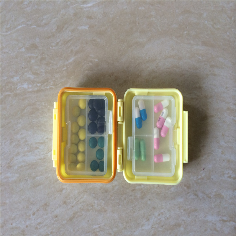 5pcs/Bags Factory Direct Sales of new Creative Portable Three Boxes of Plastic Box Wholesale Safety Household Goods