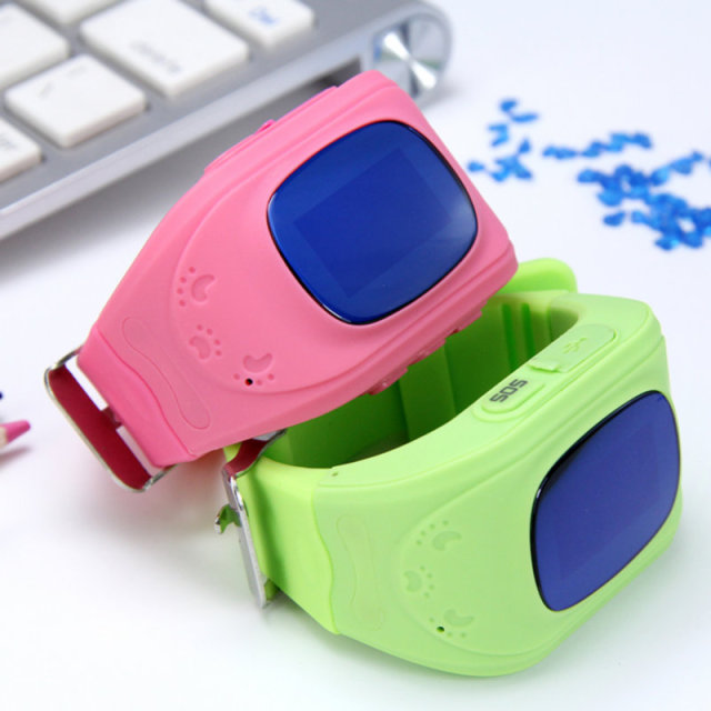 Kids Smart Watch Anti Lost GPS SOS Tracker