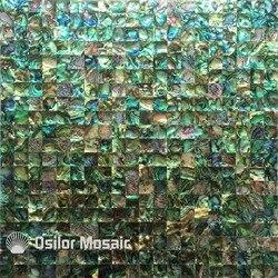 100% sea shell abalone muschel nahtlose perlmutt mosaik-fliesen für innen haus dekoration wandfliese 1 stücke