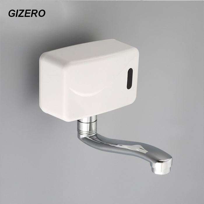 Wall Mounted Automatic Sensor Faucet Water Tap Hands Free Single Cold Sensor Torneira ZR1024
