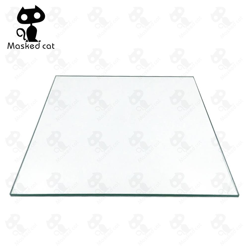3D Printers Parts For Reprap MK2 Heated Bed Borosilicate Glass Plate Size 213*200*3mm Tempered Part Accessories Toughened инфракрасный обогреватель ballu bih s2 0 3