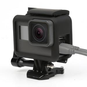 Image 3 - 撮影保護フレーム移動プロヒーロー 7 6 5 黒アクションカメラボーダーカバーハウジングのための囲碁プロヒーロー 7 6 5 アクセサリー