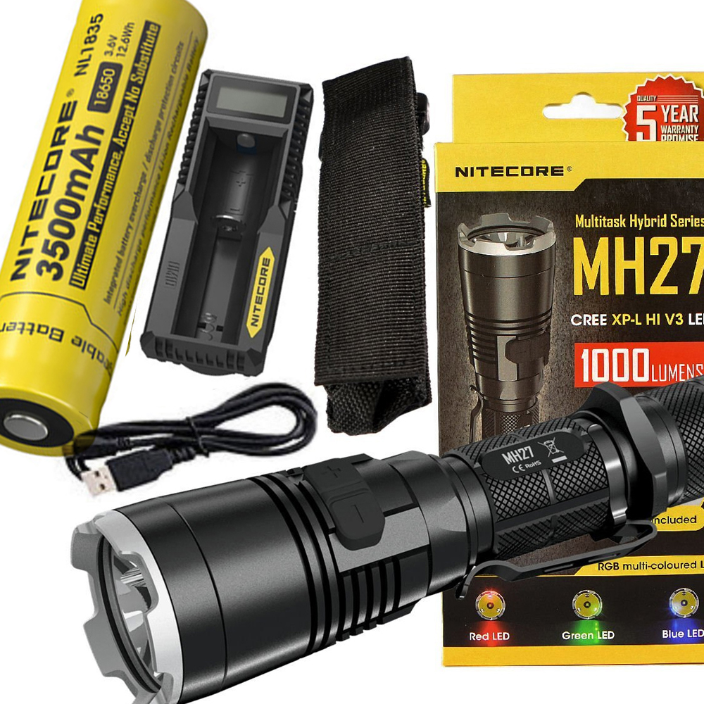Nitecore MH27 Multi Task Hybrid Series Torch