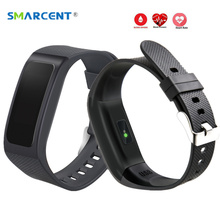 Smarcent DB04 smart Сердечного ритма крови Давление Sleep Monitor SmartBand вызова SMS напоминание Браслет фитнес-трекер Браслет