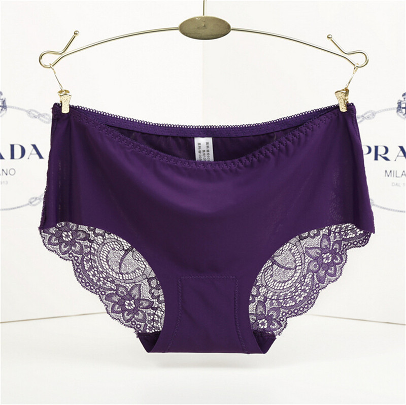 Mainland Lace Sexy Underwear Womens Sexy Lace Panties Seamless Brand Panties Female Briefs lady Lingerie Underware Intimates
