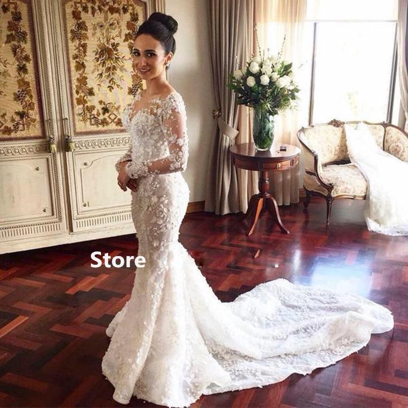 Gorgeous Mermaid Wedding Gowns