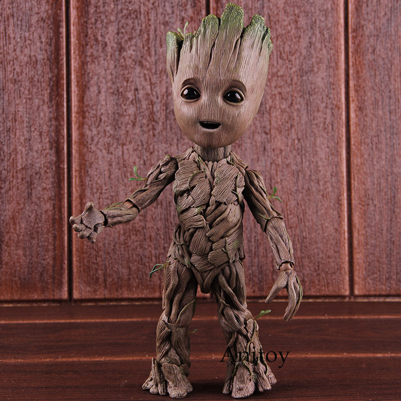 Hot Toys Guardians of the Galaxy The Tree Man Figure Action PVC Collectible Model Toy