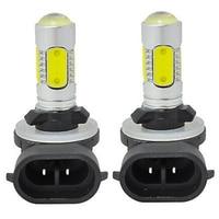 Car Styling 2PCS 881 6000K HID White COB LED Fog Lights DRL Bulbs H27W 2 886