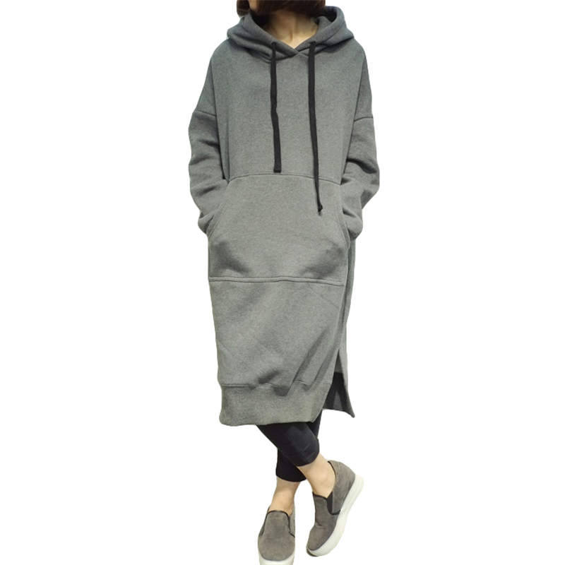 Online Kaufen Grou00dfhandel lange hoodie kleid aus China lange hoodie kleid Grou00dfhu00e4ndler  Aliexpress.com