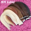High Quality brazilian straight us tape human hair extensions 2g/pc 20pcs pu skin weft remy hair ms lula hair