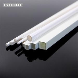 Image 1 - Tige en ABS en styrène rond, 48 pièces, tige en ABS carrée, Tube rond creux