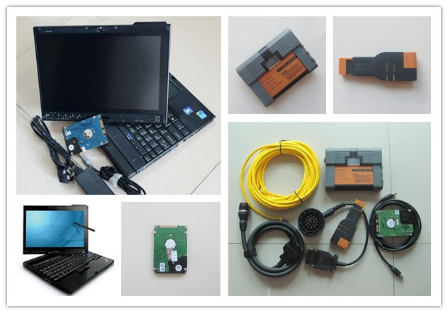 Flash Promo 2018 for bmw scanner 3 IN 1 for bmw icom a2 b c with laptop x201t i7 4g with software 500gb hdd ready to use diagnostic tool