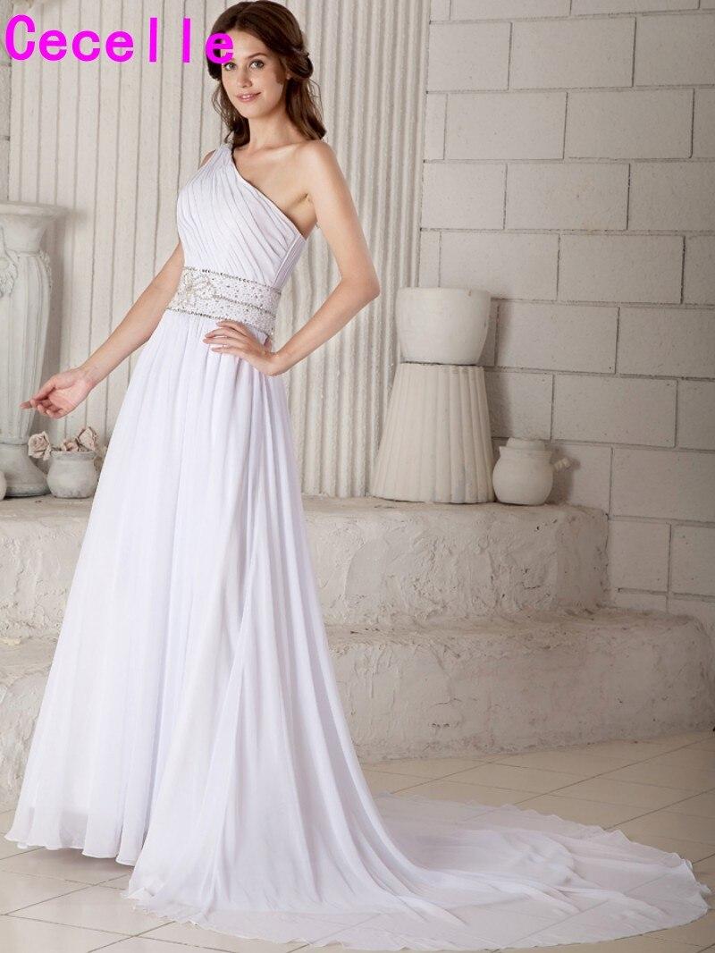 Ziemlich Eine Schulter Brautkleid Bilder - Brautkleider Ideen ...