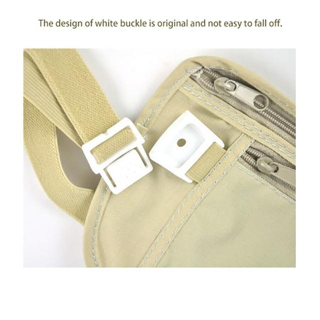 Travelling Zippered Waist Compact Bag