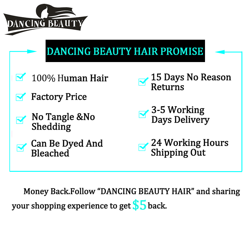 DANCING BEAUTY Pre-colored Burmese Hair Wave 3 Bundles Natural Color Non Remy Human Hair Body Wave Bundles with Closure
