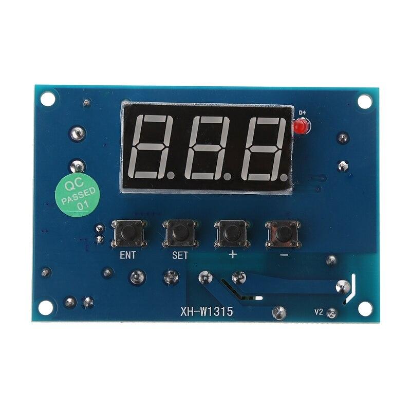 AC 110V~220V DC 12V 24V 30~999 Digital Thermostat K type Thes