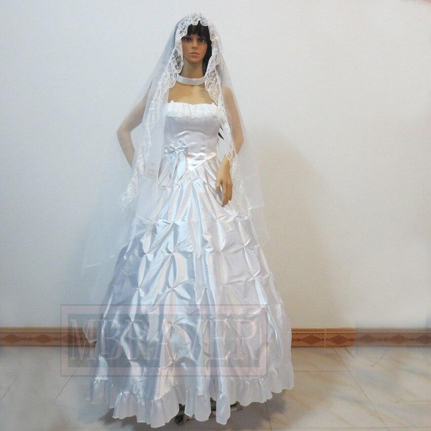 Fate/Zero TYPE Moon10 saber arturia pendragon White wedding dress ...