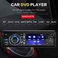 """3 """"одноместный 1 Din Dvd-плеер Автомобиля Радио Стерео Съемная Панель Bluetooth Сабвуфер AUX Камера В CD MP5 Аудио"""