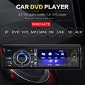 """3 """"individual 1 Din Car DVD Player Painel Destacável Radio Stereo Vídeo Câmera AUX Em CD MP5 Do Bluetooth Subwoofer de Áudio"""