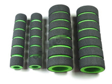 Hand sets electric motorcycle rider to cover the sponge handle sleeve green high quality wholesale,Free shipping