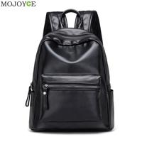 New PU Leather Backpack Korean Women Backpack Leisure Student School Bag For Teenager Girls Soft