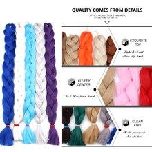 Pure Crochet Braiding Hair Extension