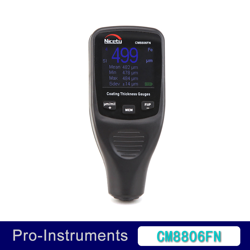 CM8806FN Car Body Tester Detailing font b Tool b font Auto Coating Thickness Gauge Car Paint