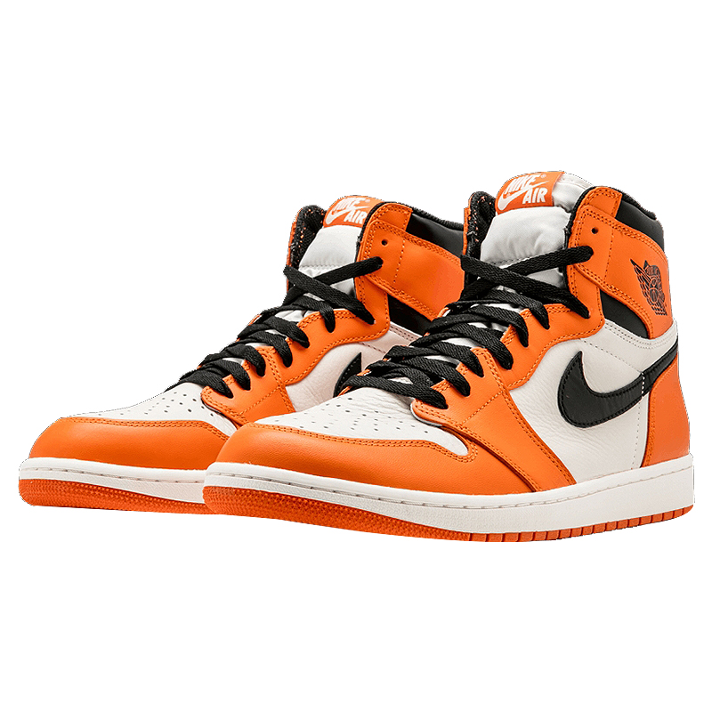 e114ce0c3b5 Original Nike Air Jordan 1 Retro High OG AJ1 White Orange White Rebound  Men's Basketball Shoes, Outdoor Sneakers 555088 113-in Basketball Shoes  from Sports ...