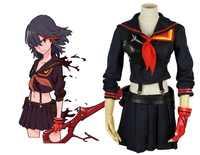 Töten La Töten Ryuko Matoi Cosplay Anime Sailor Outfit