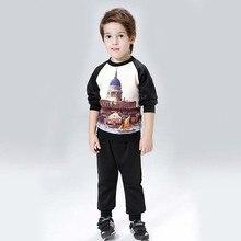 Baby font b Boy b font Clothes Child Costume Sports suit 2 pieces font b set