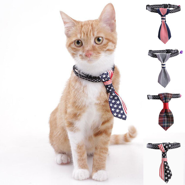 Tie Collar Pet Cat Dog Harness Kitten Puppy Pitbull Cats Style Furry Costume
