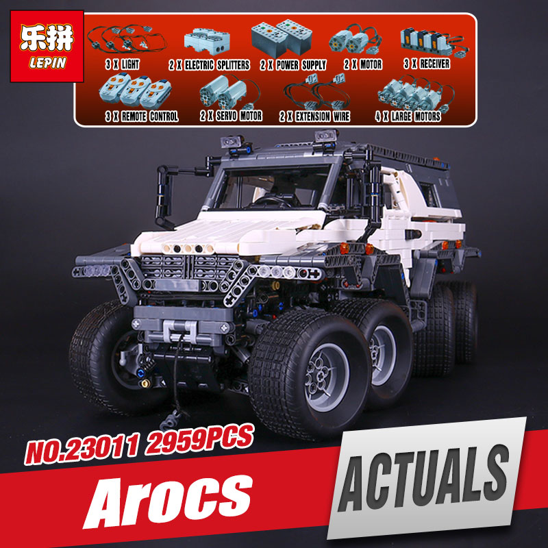 LEPIN 23011 Technic Series Off-road vehicle Model 23011B Educational Building Kits Block Bricks Compatible Toys legoing 5360 2816 pcs lepin 23011 technic series off road vehicle model moc assembling building kits block bricks compatible 5360 toy
