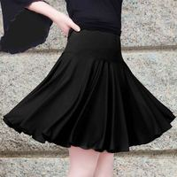 Ladies Dance Square Dance Skirt Pleated Skirt Skirt Pendulum Adult Skirt Latin Dance Skirt