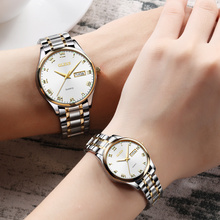 OLEVS 2018 Luxury Brand Lover Watch Women Waterproof Couples Watches F