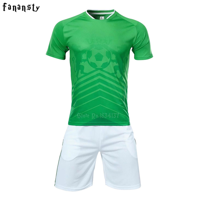 3e0696937 High quality custom soccer jerseys 2017 2018 men football jerseys adult soccer  uniforms sets mexico sports suits running kit